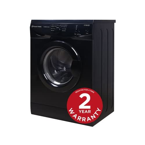 Russell Hobbs RHWM612B-M 6kg 1200 spin Black Washing Machine - Free 2 Year Warranty*