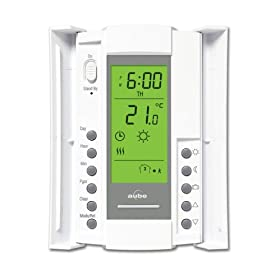 Aube by Honeywell TH115-A-240D/U Electric Heating 7-Day Programmable Thermostat