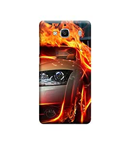 EPICCASE Premium Printed Mobile Back Case Cover With Full protection For Xiaomi Redmi 2s (Designer Case)