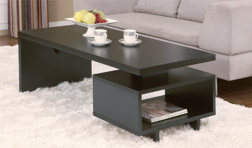 Furniture of America Chase Coffee Table, Black cd america various artists america a land of refuge 2cd