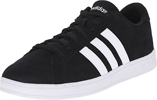 Adidas NEO Men's Baseline Shoe,Black/White/White,10.5 M US
