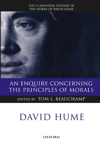 An Enquiry Concerning the Principles of Morals: A Critical Edition (Clarendon Hume Edition Series)
