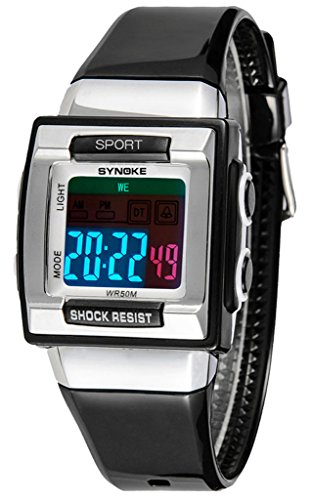 children-watches-electronic-watches-waterproof-watches-black
