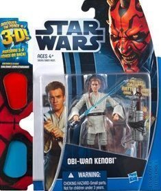 Star Wars 2012 Discover the Force Exclusive Action Figure ObiWan Kenobi