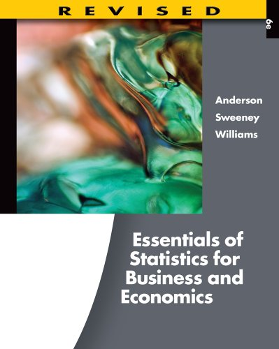 Bundle: Essentials Of Statistics For Business And Economics, Revised (With Printed Access Card), 6Th + Aplia 2-Semester Printed Access Card