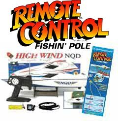 Bass Pro 30 Remote Control Fishing Boat by Fish Fun Co.