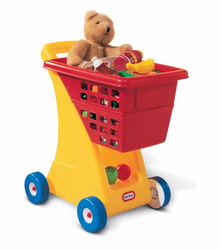 Little Tikes Shopping Cart - Yellow/Red (Red Trolley Toy compare prices)