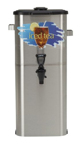 Wilbur Curtis Iced Tea Dispenser 4.0 Gallon Tea Dispenser, Oval 21