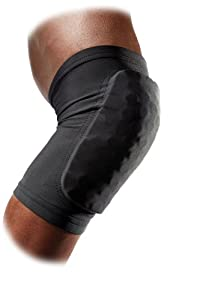 McDavid Hex Double Layer Knee/Elbow/Shin Pads, Black, X-Small