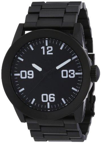 Nixon A276-1001 Mens Private SS All Black Watch