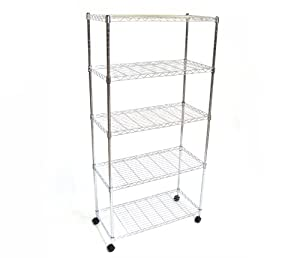 Amazon.com - Seville Classics 5-Shelf, 14-Inch by 30-Inch by 60 ...