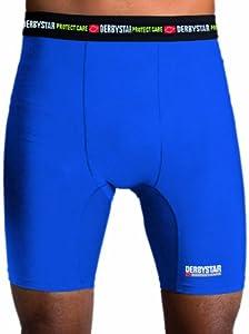Derbystar Uni Kompressions Unterziehhose Protect Care, Blau, Xs, 7406020600