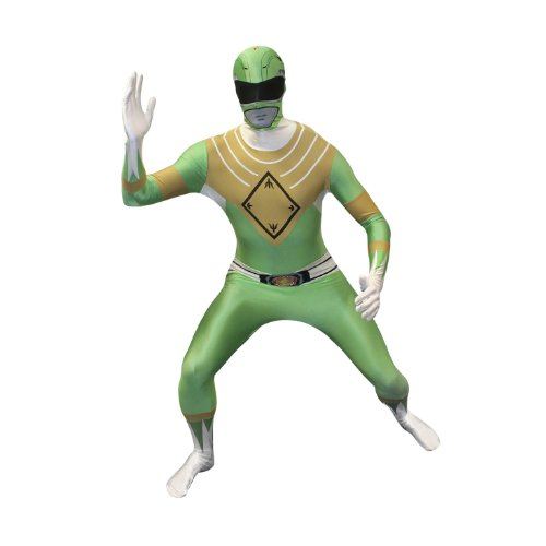 Mighty Morphin Power Ranger Green - Adult Xx Large
