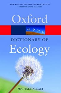 "Cover of ""A Dictionary of Ecology (Oxford..."