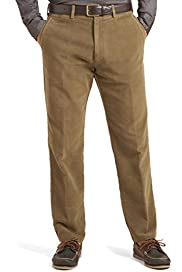 Pure Cotton Moleskin Trousers [T17-0403B-S]