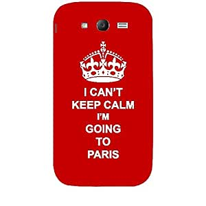 Skin4gadgets I CAN'T KEEP CALM I'm GOING TO PARIS - Colour - Red Phone Skin for SAMSUNG GALAXY GRAND (I9082)