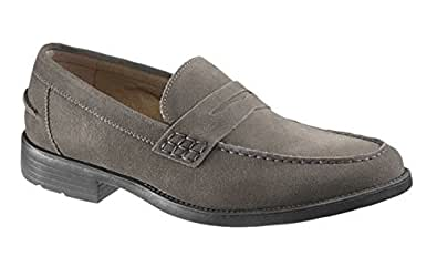 Hush Puppies Men's Holden Loafer (11, Charcoal Suede)
