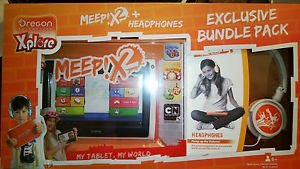 Amazing Meep X2 Android 4.2 Kid'S Tablet And Headphones Gift Set