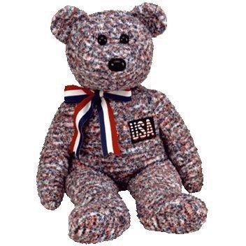 Ty Beanie Buddies USA - Bear