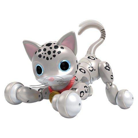 Zoomer Kitty Zooey Snow Leopard Spots Reviewmyrobot Com