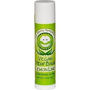 Merry Hempsters Vegan Hemp Lip Balm Lemon Lime -- 0.14 oz