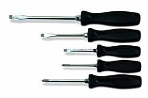 Williams 100P-5MD 5-Piece Premium Mixed Screwdriver Set