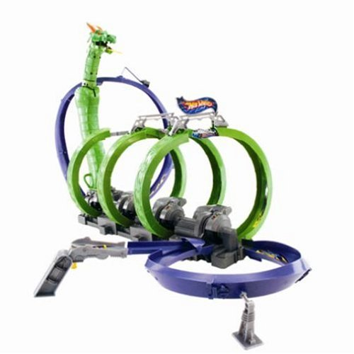 Buy Hot Wheels Dragon Fire Track Set