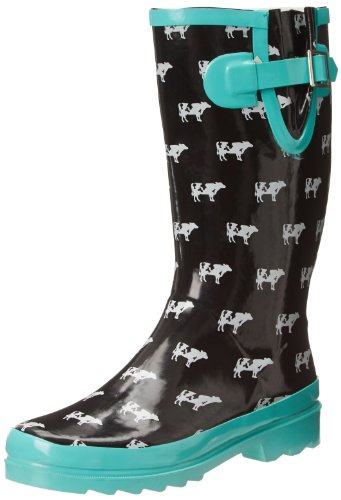 Western Chief Women's Cow Crossing Rain Boot