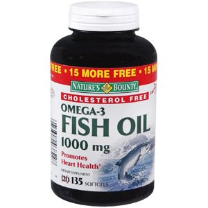 Natures bounty fish oil 1000mg omega 3 822 for Omega 3 fish oil amazon