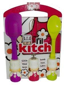 MSC International Lil Kitch Baking Tool Set - Lil Kitch - Pink