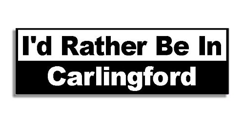 id-rather-be-in-carlingford-car-sticker-sign-voiture-autocollant-decal-bumper-sign-5-colours-black