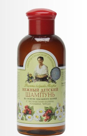 Shampoo Gentle Child on the Basis of Soap Root, Chamomile, and a Succession of Viburnum 250 Ml