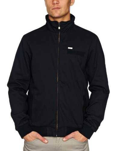 Rip Curl Cotton Twill Short Men's Jacket Black Small