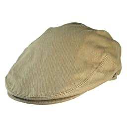 Jaxon Cotton Ivy Cap (X-Large, Beige)