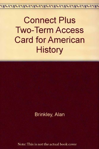 Connect Plus Two-Term Access Card for American History