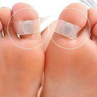 AmaranTeen - Fat Burner Slimming Weight Loss Ring Foot Massa