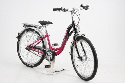 Puky Bicyclette / Vélo - Skyride 24-7 alu : Rose / Noir