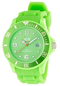 ICE-Watch - Montre Mixte - Quartz Analogique - Ice-Forever - Green - Big - Cadran Vert - Bracelet Silicone Vert - SI.GN.B.S.09