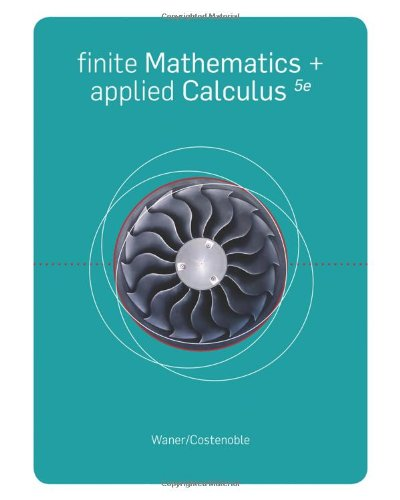 Finite Mathematics And Applied Calculus, 5Th Edition