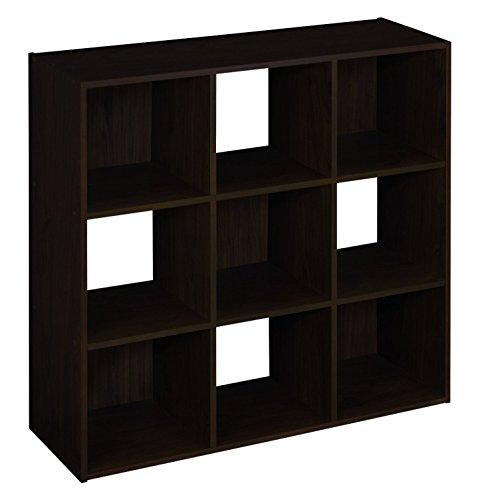 ClosetMaid 78815 Cubeicals 6-Cube Organizer, Espresso