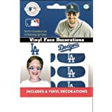 Los Angeles Dodgers Eye Black Face Decorations 3 Pair
