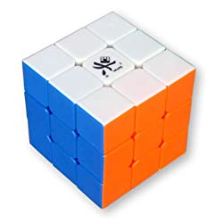 [Best price] Puzzles - Dayan GuHong 3x3 Speed Cube 6-Color Stickerless V1 - toys-games