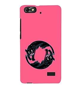 EPICCASE Yin-Yang Cats Mobile Back Case Cover For Xiaomi Redmi Mi4c (Designer Case)