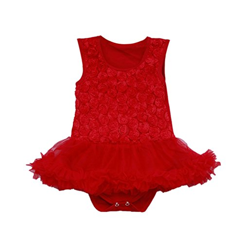 Red Baby Tutu front-129253