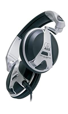 AKG High Performance Closed-Back DJ Headphones -