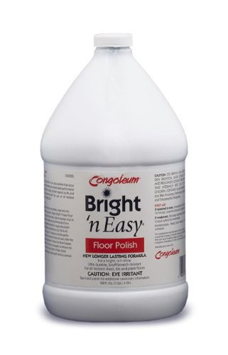 Congoleum Bright 'N Easy Floor Polish (High-gloss), Gallon (Congoleum Floor Cleaner compare prices)