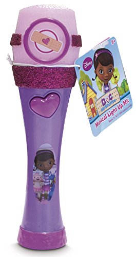 1 X Doc McStuffins Musical Light-up Microphone by Disney - 1