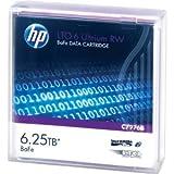 HP C7976B LTO-6 Ultrium BaFe RW Data Cartridge (6250GB, 400MBps)