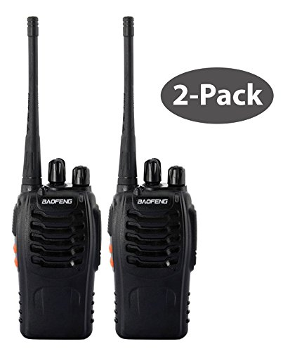 Discover Bargain BaoFeng BF-888S (USA Warranty) 400-470MHz Two Way Radio - With Battery, Antenna and...