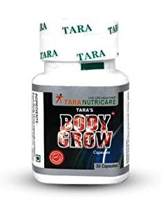 Body grow - tara nutricare ,weight gainer capsules ,muscle building and repair ,increases natural appetite ,description ,body grow is our first weight gainer supplement produced since 1989. With experience,we have improved the product from ti...